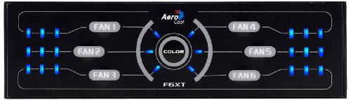 AeroCool F6XT Gehäuselüfter Controller
