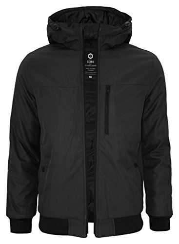 Jack & Jones Herren Stepp- Winterjacke mit Kapuze