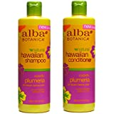 Alba Botanica Shampoo 12 oz and Conditioner 12 oz (Plumeria)