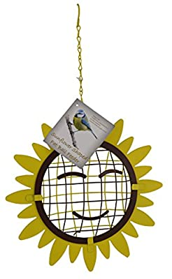 Green Jem Sunflower Shaped Wild Bird Feeder by Green Jem