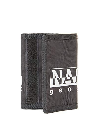 1257326063 Napapijri HAPPY WALLET Portamonete, 27 cm, Grigio (Dark Grey Solid)