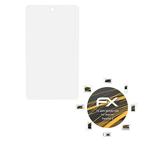 Anycool Flytouch 3 Displayschutzfolie - 2 x atFoliX FX-Antireflex blendfreie Folie Schutzfolie