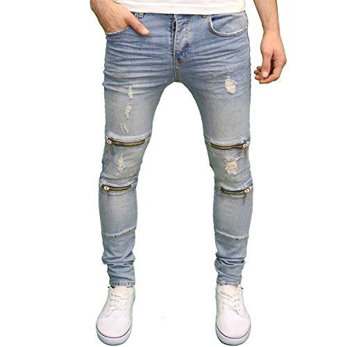 c82046cfcd0028 Eto clothing Eto Herren Jeanshose Gr. W28, Lightwash