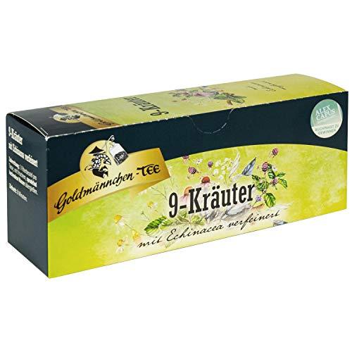 12x Thüringer 9 Kräuter Tee Goldmännchen - tolle DDR Kultprodukte - DDR Waren