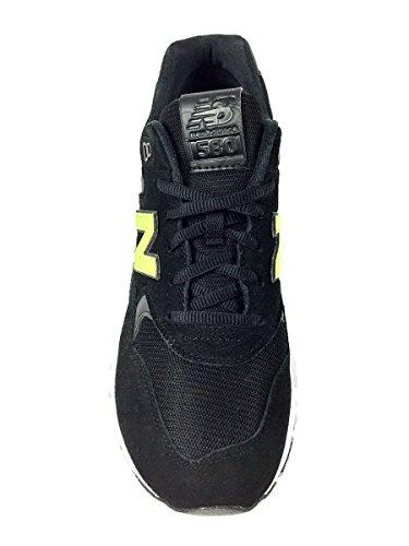 New Balance RevLite 580 Gris Baskets Mode Homme Noir