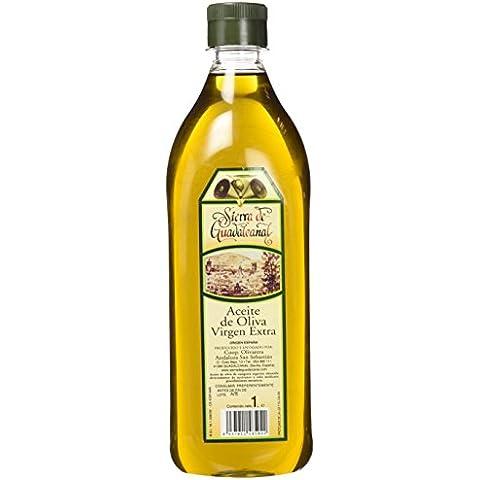 Aceite de Oliva Virgen Extra. Sierra de Guadalcanal 2016. Botella. PET. Transparente. 1 LITRO