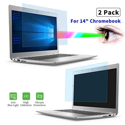 Displayschutzfolie für Acer Chromebook 14 Zoll/HP Chromebook 14 Zoll/HP Chromebook 14 Zoll/HP Pavilion 14 Zoll/HP Stream 14 Zoll / 35,6 cm Laptop Eye Protect Blue Light Blocking Filter
