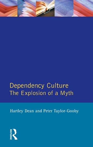 Dependency Culture: The Explosion of a Myth por Hartley Dean