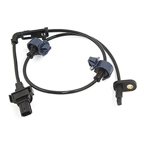 sourcingmap® Reifen Geschwindigkeitssensor ABS 57455SNA003 Für Honda Civic 06-11 Vorne Links Fahrerseite