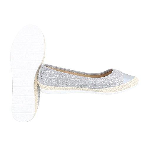 Ital-Design , Coupe fermées femme gris clair