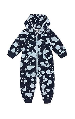 Onepiece Unisex Baby Strampler Jumpsuit Splosh, Blau (Midnight Blue), Gr. 56 (Herstellergröße: 0-6 Monate)