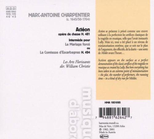 Actéon        (coll.musique d'abord)