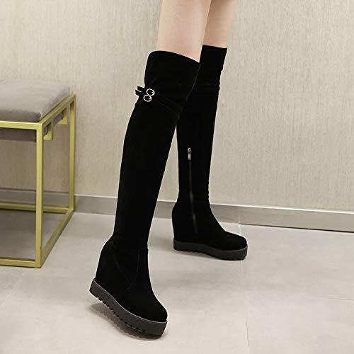 04a6f716856166 Shukun Stivaletti Women s Boots Shoes Ladies Shoes Spring And Autumn Martin  Boots Increased Women s Shoes Long