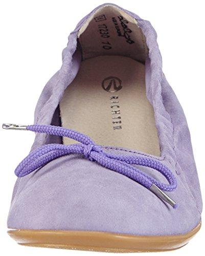 Richter Kinderschuhe Yvonne 3510-521 Mädchen Geschlossene Ballerinas Violett (lavender   4000)