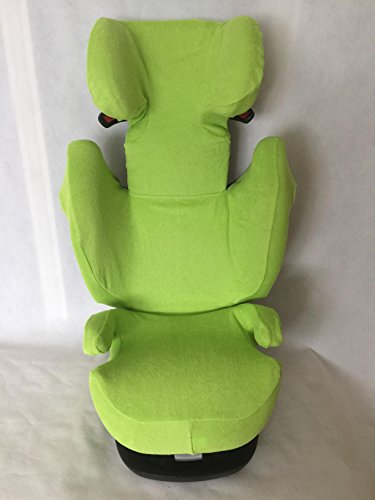 Sommerbezug Schonbezug für Cybex Solution M, M-Fix, S-Fix, M SL Frottee 100{67a4a632054012466261403a32889f2104b4795c6af64b8028343be75a4f1a0c} Baumwolle grün
