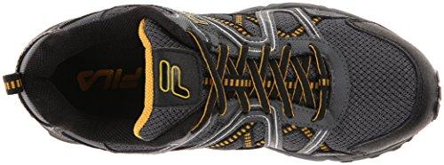 Fila Ascente 15 Trail Running Shoe Black / Castle Rock / Gold Fusion