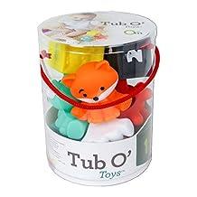 Infantino Tub O' Toys- 12 Piece Set