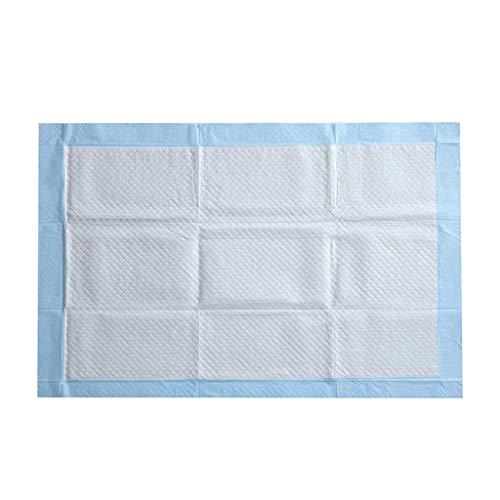 Inkontinenzunterlage Serria® Einmal-Krankenunterlage unterverpackte Bettunterlage für Inkontinenz & Blasenschwäche ideal für Krankenhäuser Blau 80cm x 90cm