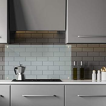 100 x 50 cm Glas Küchenrückwand Glasrückwand