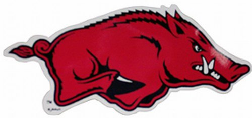 Game Day Outfitters NCAA Arkansas Razorbacks Auto-Magnet Running Hog (klein, 2Stück) - Arkansas Razorbacks Auto