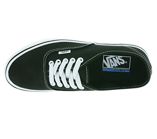 Vans Authentic Lite Plus - Scarpe da Ginnastica Basse Unisex – Adulto, Nero (canvas/black/black), 34.5 EU Nero (canvas/black/white)