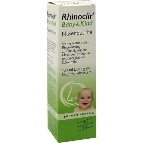 rhinoclir Baby & bambino Naso Soluzione doccia 100ML