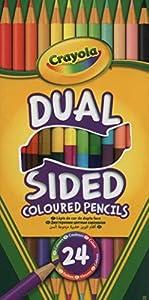 Crayola - 12 lápices de Doble Cara (68-6100)