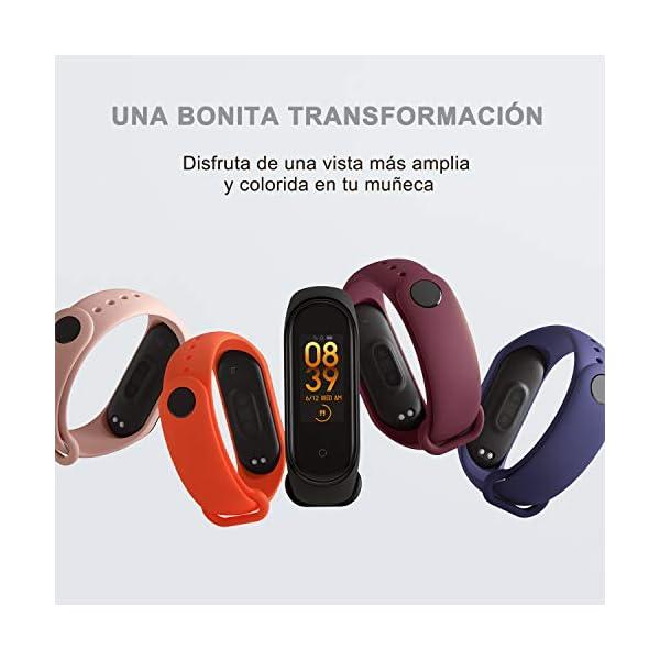 BANGTING 13 PCS Correa Compatible con Pulseras Xiaomi Mi Band 3/4, Correas para Fundas Mi Band 3 Mi Inteligente Band 4… 2