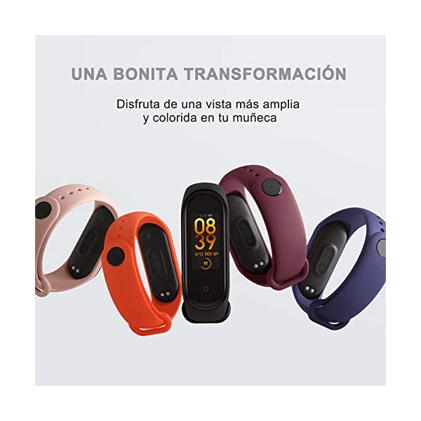 BANGTING 13 PCS Correa Compatible con Pulseras Xiaomi Mi Band 3/4, Correas para Fundas Mi Band 3 Mi Inteligente Band 4 Pulsera Reloj Silicona Banda Reemplazo 2