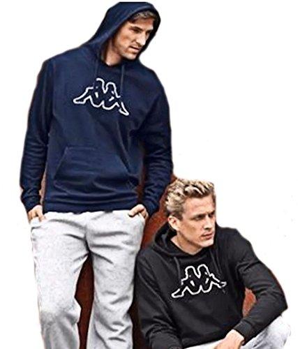 kappa-herren-kapuzenpullover-sweat-pullover-sweatshirt-blau-m