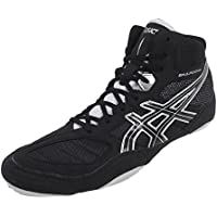 Asics Timbre de Lucha Libre Zapatos ASICS Snapdown–J502Y 9093–Negro/Plata, Black/Silver