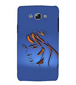 printtech Beautiful Girl Face Abstract Back Case Cover for Samsung Galaxy J7 (2016 ) /Versions: J710F, J710FN (EMEA); J710M (LATAM); J710H (South Africa, Pakistan, Vietnam) Also known as Samsung Galaxy J7 (2016) Duos with dual-SIM card slots Asia/China model with 1080p display and 3 GB RAM