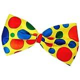 TOOGOO(R) Clown Fliege Faschingskostuem Punkt mehrfarbig