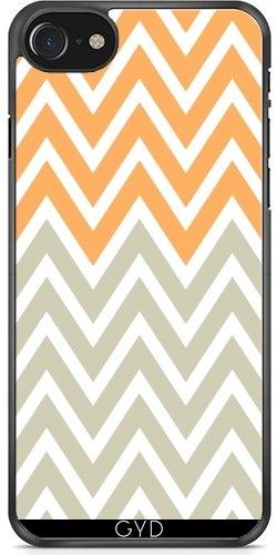 Leder Flip Case Tasche Hülle für Apple iPhone 5/5S - Fischgräte by les caprices de filles Plastique Rigide