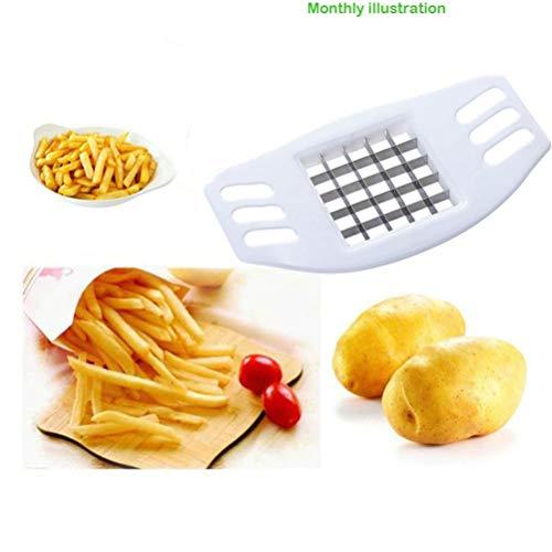 TAOtTAO Neue Gemüse Kartoffel Slicer Cutter Chopper Chips Machen Werkzeug Kartoffel Schneidwerkzeug (Weiß)