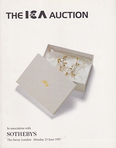 The ICA Fiftieth Anniversary Auction - A Sale of Contemporary Art Works in Aid of the Institute of Contemporary Arts: London, Monday 23rd June 1997
