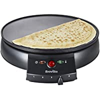 Breville VTP130 Traditional Crepe Maker, 12-Inch, Black