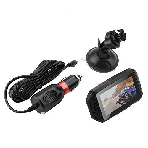 Auto Rückspiegel Camer, HD 1080P 2.7inch 170 Grad Weitwinkel-Auto DVR-Rückspiegel-Kamera, die Videorecorder fährt