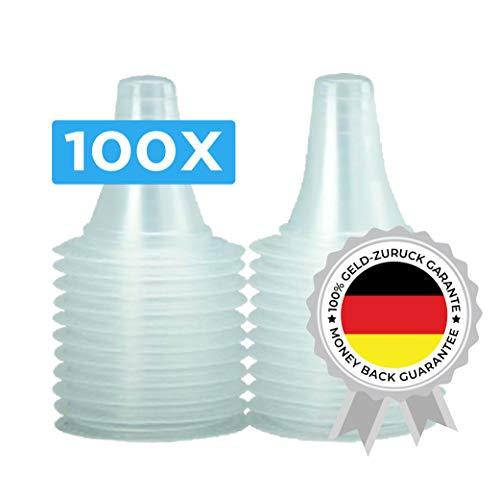 100 Ersatzschutzkappen für Braun Thermoscan Thermometer T1010/2020 138273