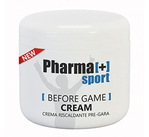 Crema riscaldante pre-gara ml 500 per massaggi sportivi pregara professionale
