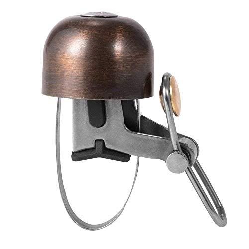 ROCKBROS Fahrradklingel Handklingel Lenker Klassisch Klingel Retro Vintage Horn Retro Bell (Vintage Farbe)