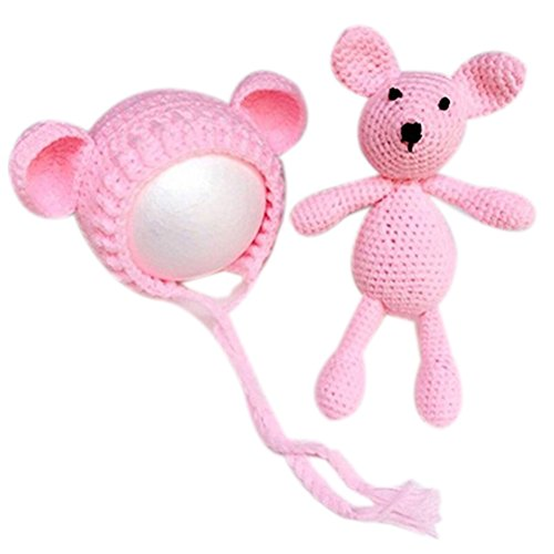 Babys, Mütze mit Bär (Leichte Kost Kostüme)
