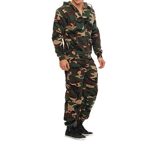 Drying Jumper Herren Camouflage Jogging Anzug Trainingsanzug Sportanzug Army Woodland