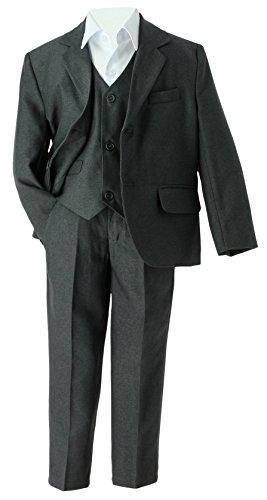 Boutique-Magique Jungen Anzug Grau Gris anthracite