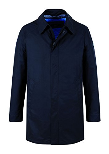 MichaelaX-Fashion-Trade - Manteau - Uni - Manches Longues - Homme Bleu - Blue - Marine (49)