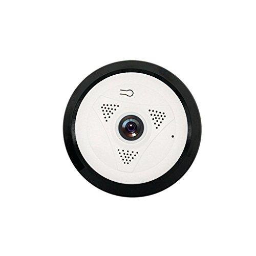 Pinkbenmus Netzwerkkamera Innen, 960P 1,3 Millionen Pixel Netzwerkkamera Mit Monitor-3D Stereo Monitoring & 360 Augen & Bewegungserkennung Netzwerkkamera Nachtsicht Surveillance Detector