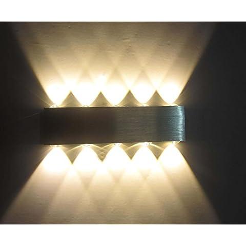 LED-Lámpara de pared cuenta con un diseño rectangular LED-Lámpara de mesa