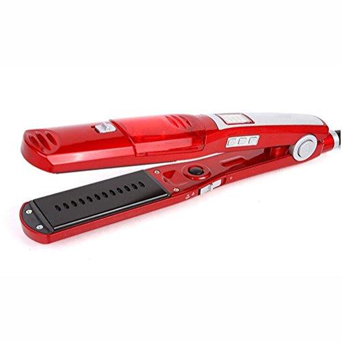 Multi-función Rizadores eléctricos vapor aerosol Cerámica De no lastimar el cabello Plancha para el pelo enderezador