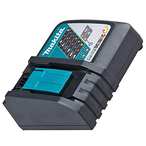 Makita 195584-2 - Cargador rápido 18V DC18RC Litio-Ion