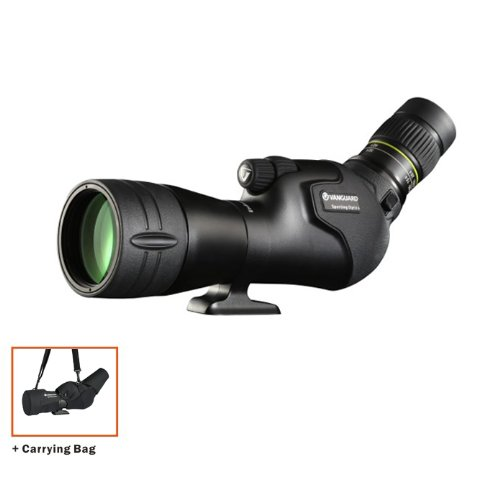 Vanguard Endeavor HD 65A Angled Spotting Scope with 15-45x Zoom Eyepiece and Stay-On Case Special